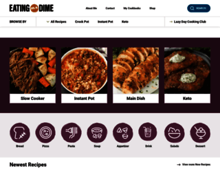 eatingonadime.com screenshot