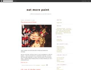 eatmorepaint.blogspot.fr screenshot
