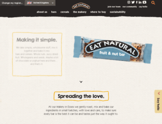 eatnatural.co.uk screenshot