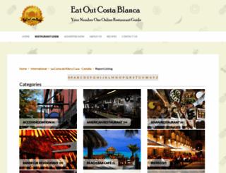 eatoutcostablanca.com screenshot