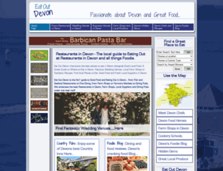 eatoutdevon.com screenshot