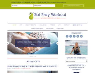 eatprayworkout.com screenshot