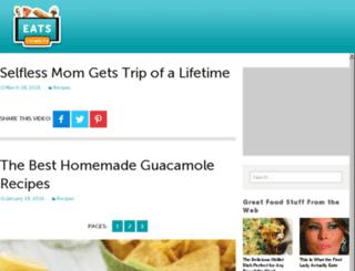 eats.living-tv.com screenshot