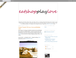 eatshopplaylove.blogspot.com screenshot