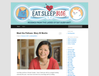 eatsleepknitblog.com screenshot