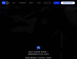 eatsleepride.com screenshot