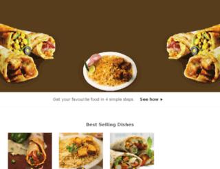 eatsome.foodpanda.in screenshot