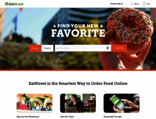eatstreet.com screenshot