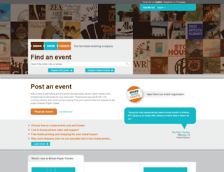 eatwelltomatosauceparty2014.brownpapertickets.com screenshot