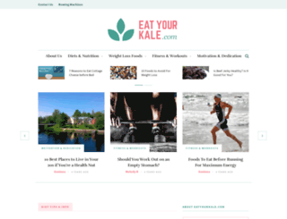 eatyourkale.com screenshot