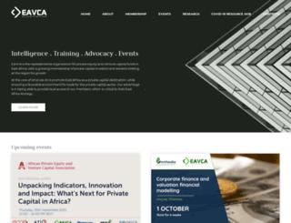 eavca.org screenshot