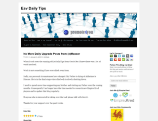 eavdailytips.wordpress.com screenshot