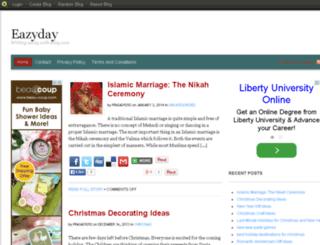 eazyday.blog.com screenshot