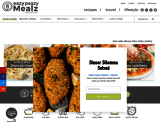 eazypeazymealz.com screenshot