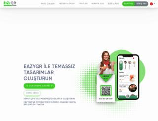 eazyqr.com screenshot