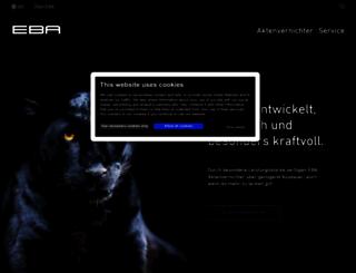 eba.de screenshot