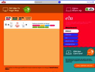 eba.gov.tr screenshot