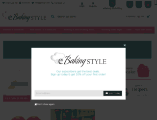 ebakingstyle.com screenshot