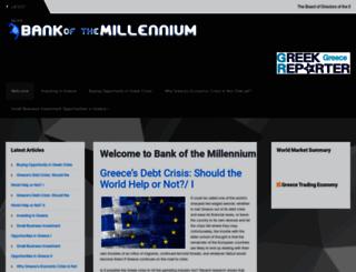 ebanking.millenniumbank.gr screenshot