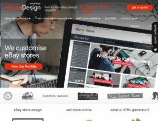 ebay-store-design.co.uk screenshot