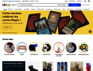 ebay.fr screenshot
