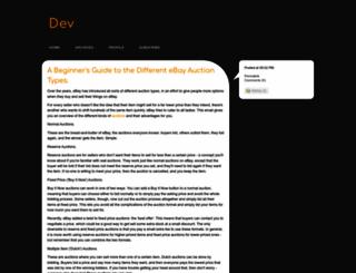 ebaydeveloper.typepad.com screenshot