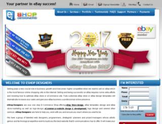 ebaystoredesigners.com screenshot