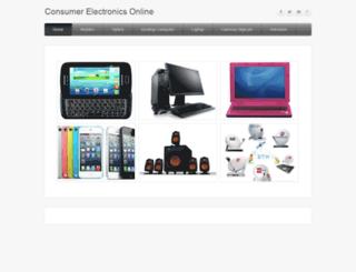 ebazaarguruconsumerelectronics.weebly.com screenshot