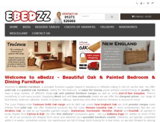 ebedzz.co.uk screenshot