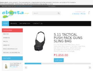 ebenta.com.ph screenshot