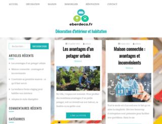 eberdeco.fr screenshot