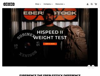 eberlestock.com screenshot