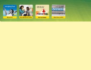 ebharatgas.com screenshot