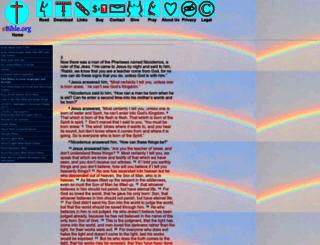 ebible.org screenshot