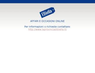 ebiella.it screenshot