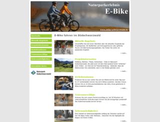 ebike-schwarzwald.de screenshot