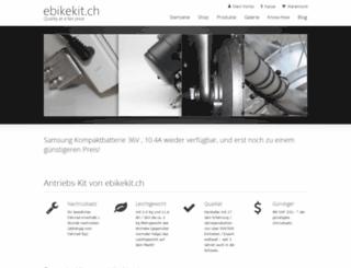 ebikekit.ch screenshot