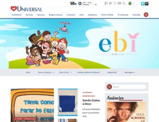 ebiuniversal.com.br screenshot