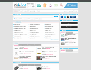 ebiz.ba screenshot