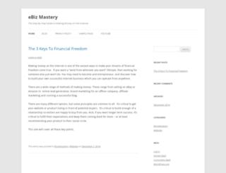ebizmastery.com screenshot