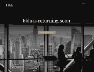 ebla.com screenshot
