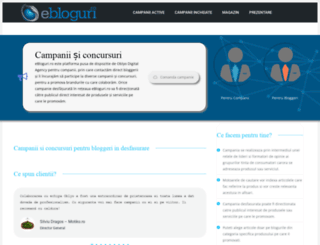 ebloguri.ro screenshot