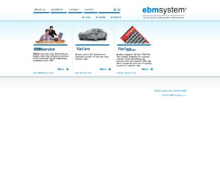 ebmsystem.com screenshot