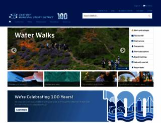 ebmud.com screenshot