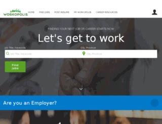 ebo.workopolis.com screenshot