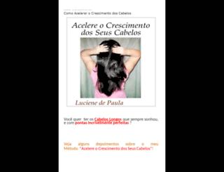 ebookacelereocrescimentodeseuscabelos.blogspot.com.br screenshot