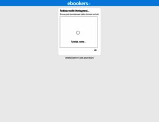 ebookers.fi screenshot