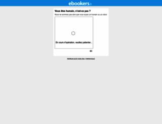 ebookers.fr screenshot