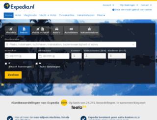 ebookers.nl screenshot