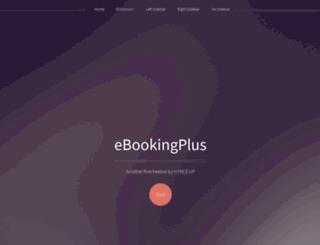 ebookingplus.com screenshot